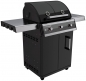 Preview: Gasgrill DUALCHEF 315 G, 3 Brenner black