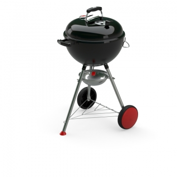 Holzkohlegrill Kettle Plus, 47 cm, Black