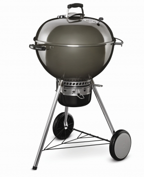 Holzkohlegrill Master Touch GBS 57 cm, smoke grey