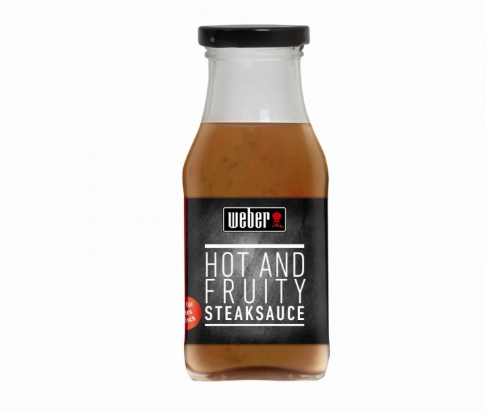 Steak-Sauce Weber's Hot & Fruity 240 ml