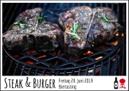 "*AUSGEBUCHT* Steak & Burger ""Biertasting"" 28.06.2019"